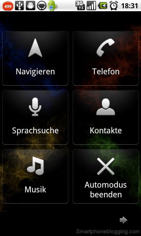 car mode: