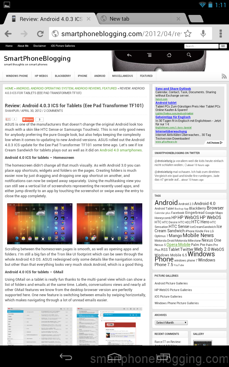 Review: Android 4 1 Jelly Bean for Tablets (Nexus 7
