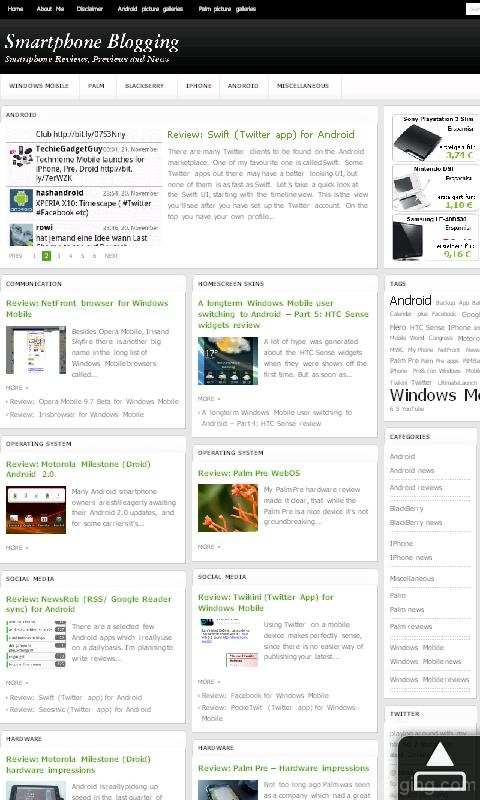hd2 htc sense opera browser blog