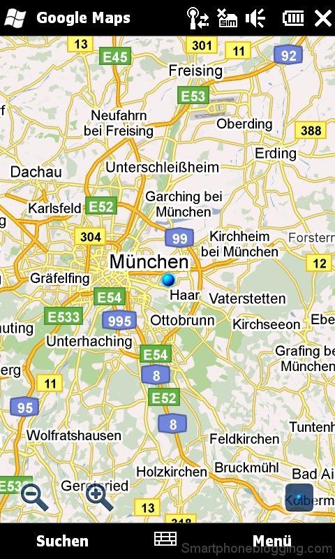 htc hd2 windowsmobile google maps