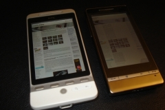 HTC Hero hardware pictures