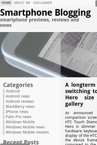 HTC Sense browser app