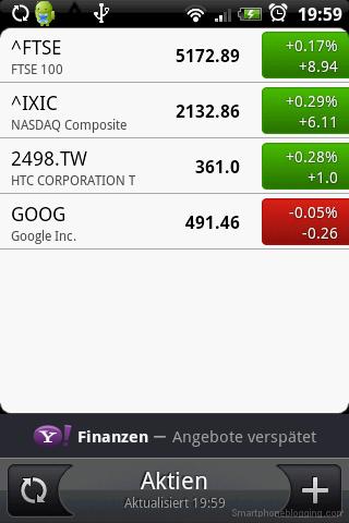 HTC Sense stock app