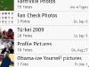 HTC Sense contacts app facebook album