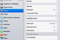 iOS for iPad screenshots
