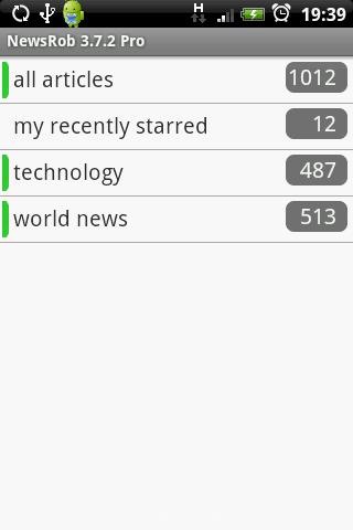 NewsRob startscreen