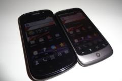 Nexus S vs. Nexus One