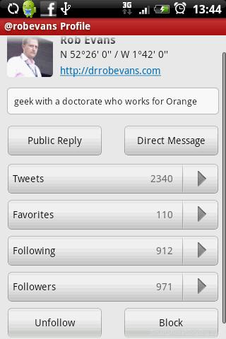 seesmic profile follower