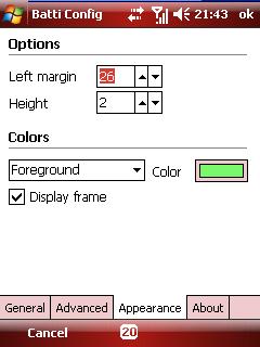 Batti color options