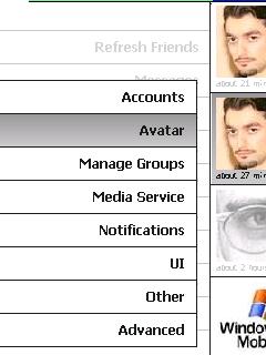 PockeTwit settings