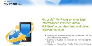 MyPhone Login
