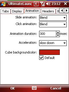 ultimatelauncher animation options